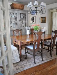 nine six decorating inspiration slipcovers seat skirts for dining room chairs love her dining room