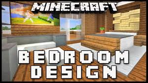 Minecraft Interior Design Bedroom Minecraft How To Make A Master Bedroom Design Modern House Build