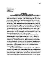 hamlet critical analysis essay  essay on literary analysis on hamlet tragedy