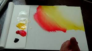 Dark To Light Acrylic Painting Learn To Paint Acrylic Color Mixing Dark Vs Light Acrylic Painting