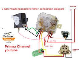 washing machine timer wiring diagram Wiring Diagram Channel Simple Wiring Diagram
