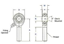 Tie Rod End Taper Chart Selecting Rod Ends Story Photos By Jim Clark The Hot Rod