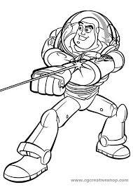 Buzz Ligthyear Toy Story Disney Disegno Da Colorare