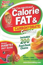 Food Calorie Book The Calorieking Calorie Fat Carbohydrate Counter 2017 Pocket