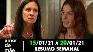 Resumo Semanal: Amor de Mãe 15/03/21 a 20/03/21 - [Capítulo 103, 104, 105,  106, 107 e 108] - YouTube