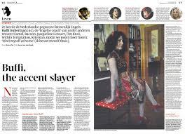Volkskrant Interview 12 September Buffi Duberman