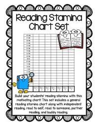 Reading Stamina Chart Set