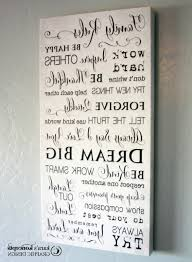 well liked family rules canvas wall art with regard to 10x20 family rules canvas wrap