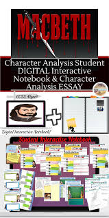 best ideas about macbeth analysis shakespeare shakespeare s macbeth character analysis digital and printable