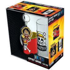 Подарочный набор <b>One Piece</b>: Бокал + Брелок + <b>Кружка</b> Luffy ...
