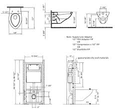 ... View dimensions of the Wall Hung #805 Series Toilet ...