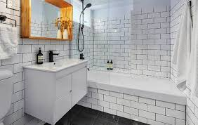 bathroom tile grey subway. Bathroom Tile Flooring Gray Subway Grey O