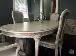 traditional dining set refinished and upholstered in new jersey