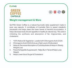 Goyng Green Coffee Capsule For Healthy Weight Management
