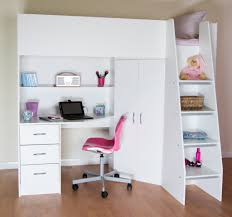 high sleeper cabin bed with colour options ideal childrens safe bed with wardrobe and desk cornwall