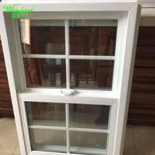 Pvc Sliding Single Double Tempered Upvc Windows Wood Color Vinyl Window And Door Cheap Pvc Window