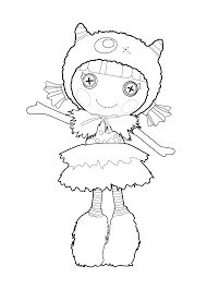 Small Picture Good Lalaloopsy Coloring Pages 50 For Your Coloring Books with