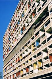 Cité Radieuse Marseille France 1952 Modern Architecture 1945