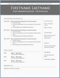 Download Free Professional Resume Templates Best Of Modern Resume