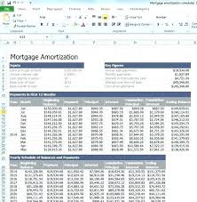 Free Amortization Schedule Excel Template Excel Amortization
