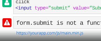 Submit Form When Form Submit Is Not A Function