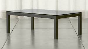 Glass for coffee table Oak Parsonsglassrectcoffeetableshs151x1 Crate And Barrel Parsons Clear Glass Top Dark Steel Base 48x28 Small Rectangular