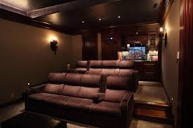 Theater Room On Story Foyer Small Home Theater Room Ideas ...