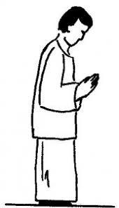 Znalezione obrazy dla zapytania postawy i gesty liturgiczne