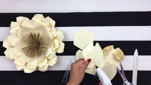 Spring Flower Template Diy Paper Flower Backdrop Spring Flowers Template 14 Youtube