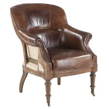 vintage leather club chairs. Churchill Deconstructed Vintage Leather Club Chair Chairs O