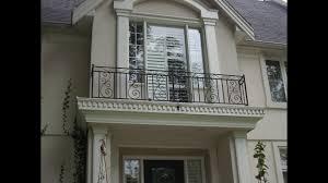 Modern Railing Balcony Design For Home - YouTube