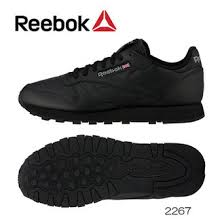 reebok classic mens. reebok classic leather black 2267 men\u0027s cl leather mens sneakers shoes
