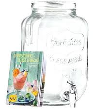 glass drink dispenser target drinks exclusive booklet at home 0