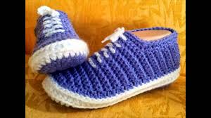 Youtube Free Crochet Patterns Unique Designer Free Crochet Pattern For Tennis Shoe Slippers Crochet