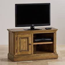 Small Tv Cabinets Manor House Solid Oak Small Tv Cabinet