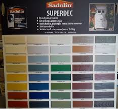 Superdec Colour Chart Looking For An Upgrade Around The House Look No Further