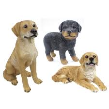 Dekofigur Hund Aus Polyresin