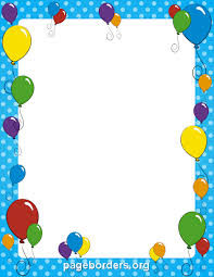 Free Page Borders For Microsoft Word Amazing Birthday Borders For Microsoft Word Group With 48 Items