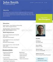 One Page Professional Resume Template Blockbusterpage Single Page