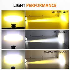 MGLLIGHT 1 cái Chùm Vàng / Chùm Trắng / Chùm Vàng-Trắng Đèn LED Xe Máy Đèn  LED
