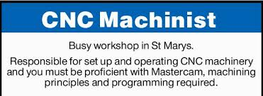 Cnc Machinist | Find A Job | Jobs | Daily Telegraph