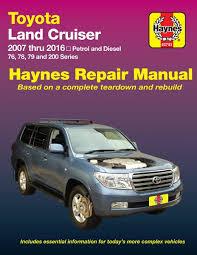 Toyota Land Cruiser Petrol Diesel 2007-2016 Haynes Service Repair ...