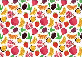 Fruit Pattern Beauteous Fruit Pattern Vectors Download Free Vector Art Stock Graphics