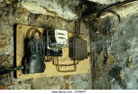 mains switch stock photos mains switch stock images alamy old electrics mains supply meter and fuse box stock image
