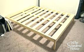 King Slatted Bed Base Handy Living Wood Slat Frame Cal ...