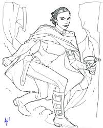 Small Picture star wars princess leia coloring pages Go Back Gallery For