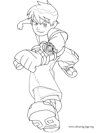 Small Picture Ben 10 Ben 10 coloring page