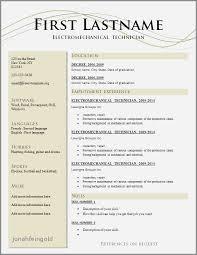 Impressive Resume Templates Mesmerizing Resume Templates Queensland Government Luxury 48 Impressive Resume