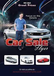 Car Sales Flyer Template Photoshop Version Photoshop