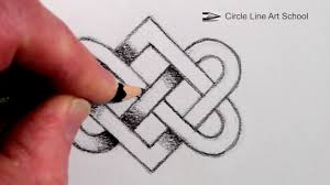 Celtic Design Love How To Draw A Celtic Knot Step By Step